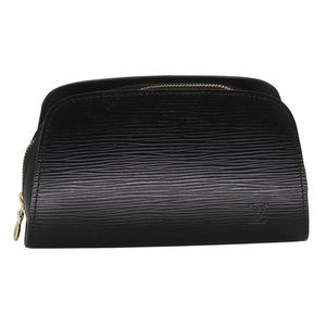 Louis Vuitton Cosmetic Pouch Dauphine Epi Leather